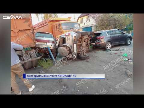 В минувшие выходные на дорогах Курской области погибли 2 человека