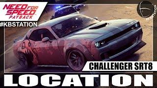 Need for Speed Payback Carro Abandonado | Dodge Challenger SRT8 | Localização