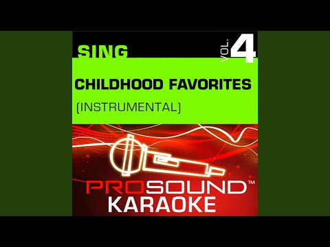The Sister Song (Karaoke Instrumental Track) (In the Style of Children's Favorites)