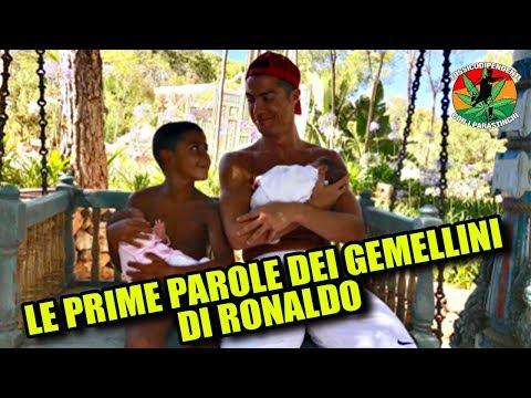 Ronaldo, Ronaldo Junior e le prime parole dei gemellini