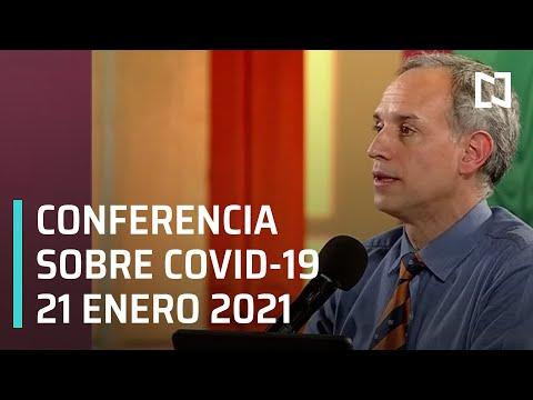 Conferencia Covid-19 en México - 21 enero 2021