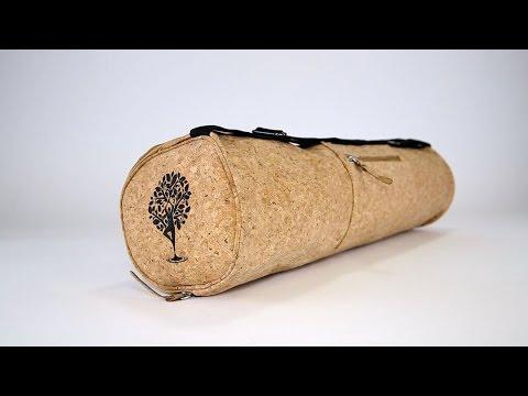 The Best Yoga Mat Bag - Handmade with Cork
