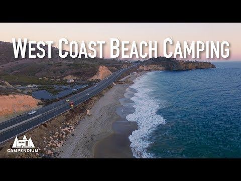 West Coast Beach Camping!