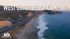 West Coast Beach Camping!