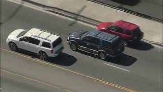 07/01/19: Shirtless DUI Suspect Leads Chase Through South LA - Unedited