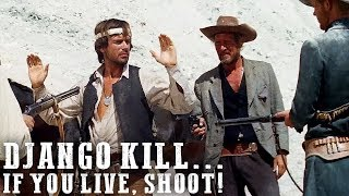 FREE WESTERN MOVIE | Django Kill... If You Live, Shoot! | Full Length | English | HD | Full Movie