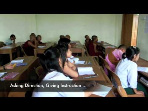 Return from Rangoon, Metta Nanda Monastic School 2