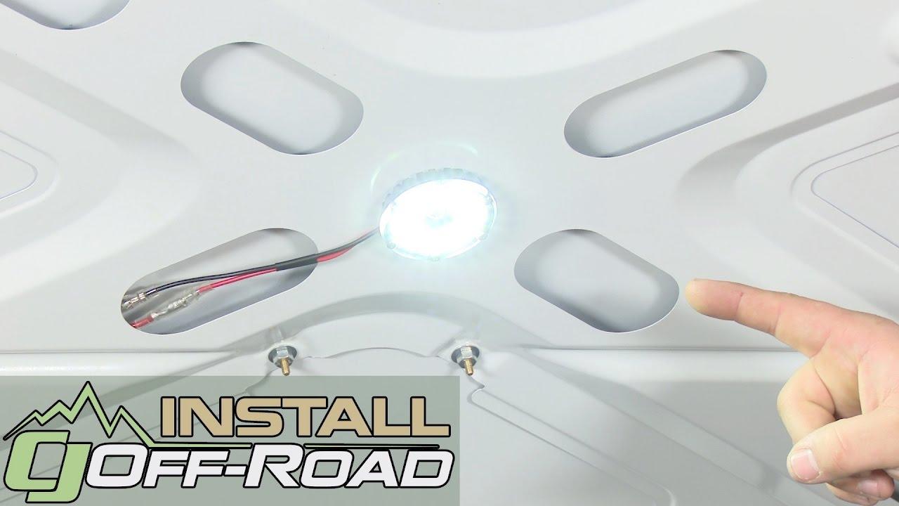 KC HiLiTES Under Hood Lighting Kit LED Cyclone 1-Piece White ...