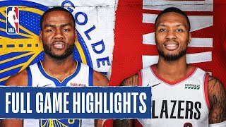 WARRIORS at TRAIL BLAZERS | FULL GAME HIGHLIGHTS | January 20, 2020