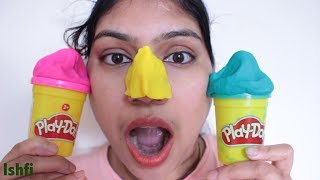 Play Time with PlayDoh & Ishfi