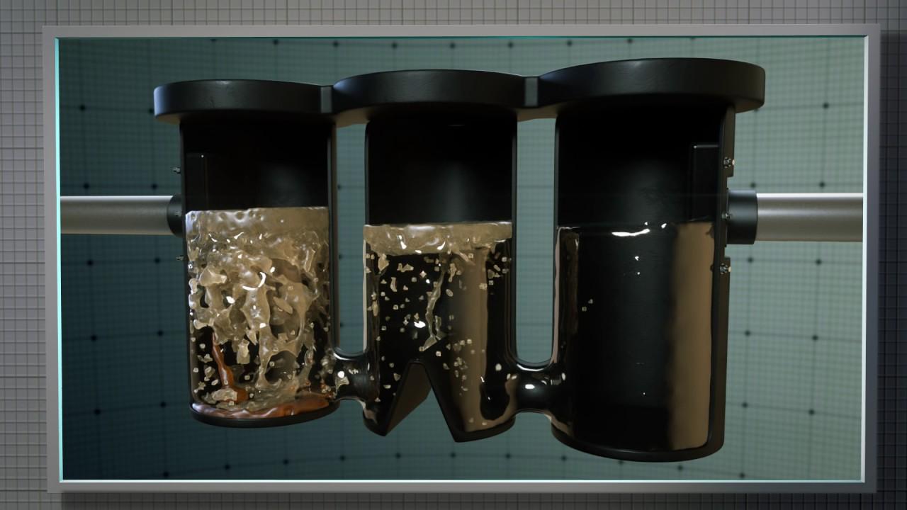 Ak Industries Oil And Grease Separator Triple Garage Basin