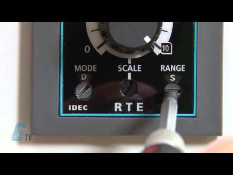 IDEC RTE Series Timer Relays Demo of a Signal Start On-Off Delay Timer Function