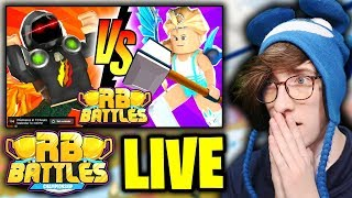 🔴 PrestonPlayz vs BriannaPlayz (LIVE REACTION) | ⚔️ RB Battles Championship | 1 Million Robux Prize