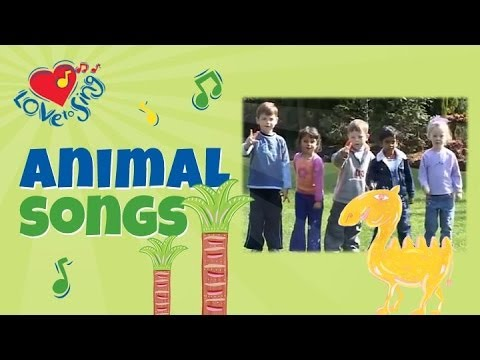 Alice the Camel Has Five Humps | Children Love to Sing | Kids Action Song