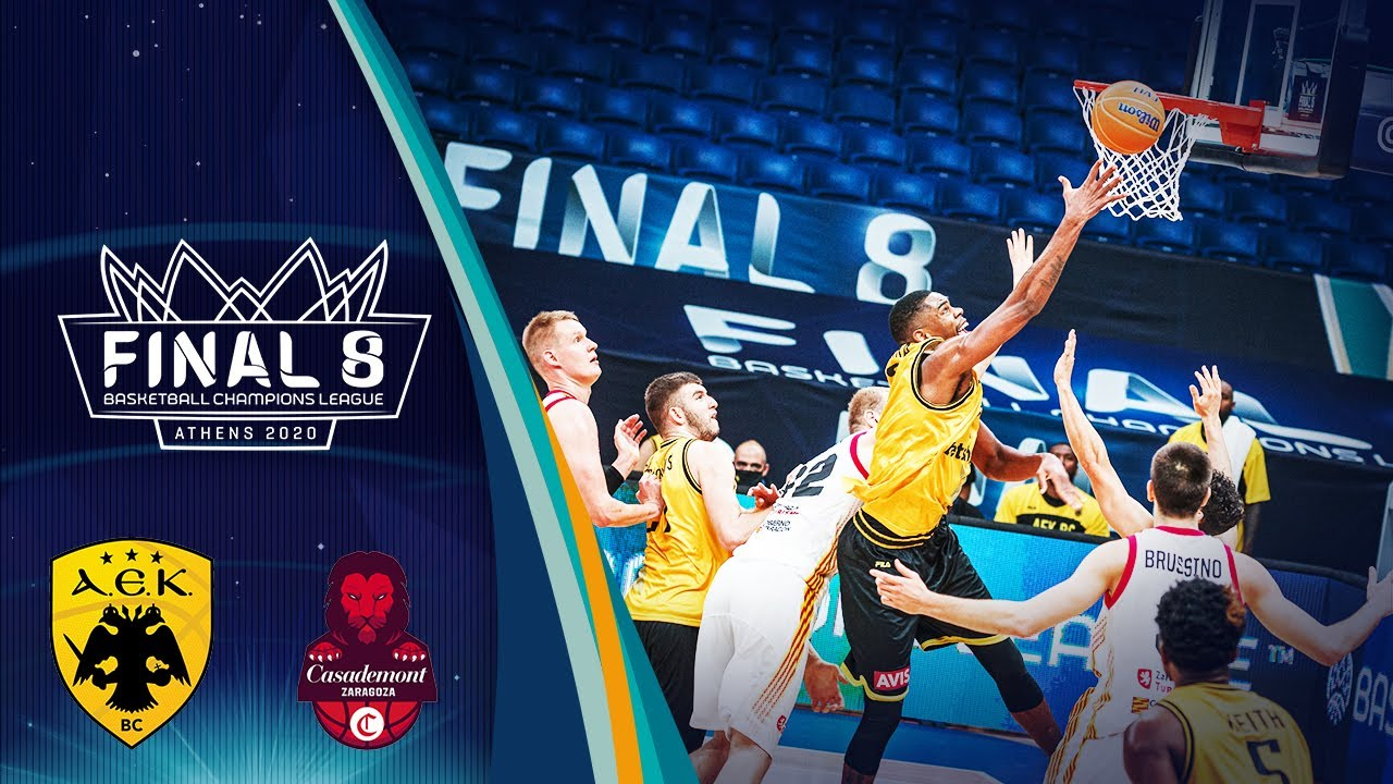 AEK v Casademont Zaragoza - Full Game - Semi Finals - Basketball Champions League 2019