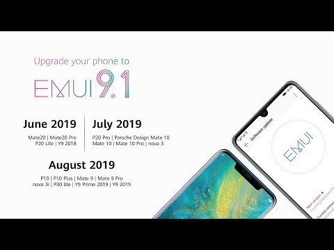 How To Update To EMUI 9.1 With HiCare APP
