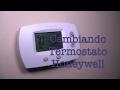 Instalando Termostato Honeywell - JoseReparaSuCasa