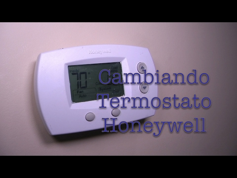 How To Install And Program Your Honeywell Thermostat. Wiring. Honeywell Thermostat 6350d1000 Wiring Diagram At Scoala.co