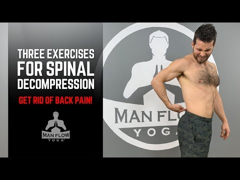 3 Exercises For Spinal Decompression (GET RID OF BACK PAIN!)