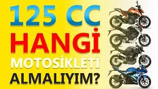 Honda   Ktm   Suzuki   Yamaha   125cc de hangi motoru almalıyım?