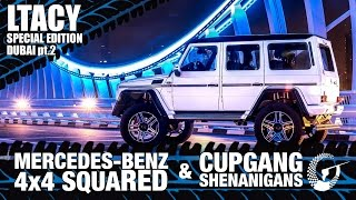 BIGGEST IDIOTS REVIEW THE MERCEDES G500 4x4 SQUARE - LTACY SPECIAL EDITION DUBAI Pt. 2