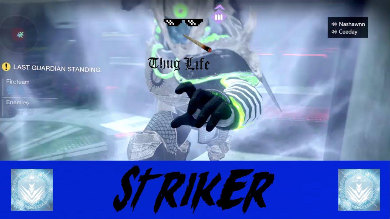 Hilarious Abilities Only Trials Run (Striker) | Destiny ...