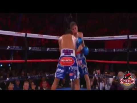 Roman 'Chocolatito' Gonzalez Vs Carlos Cuadras Fight Highlights,