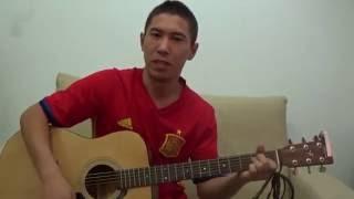 Вахтерам на гитаре Cover