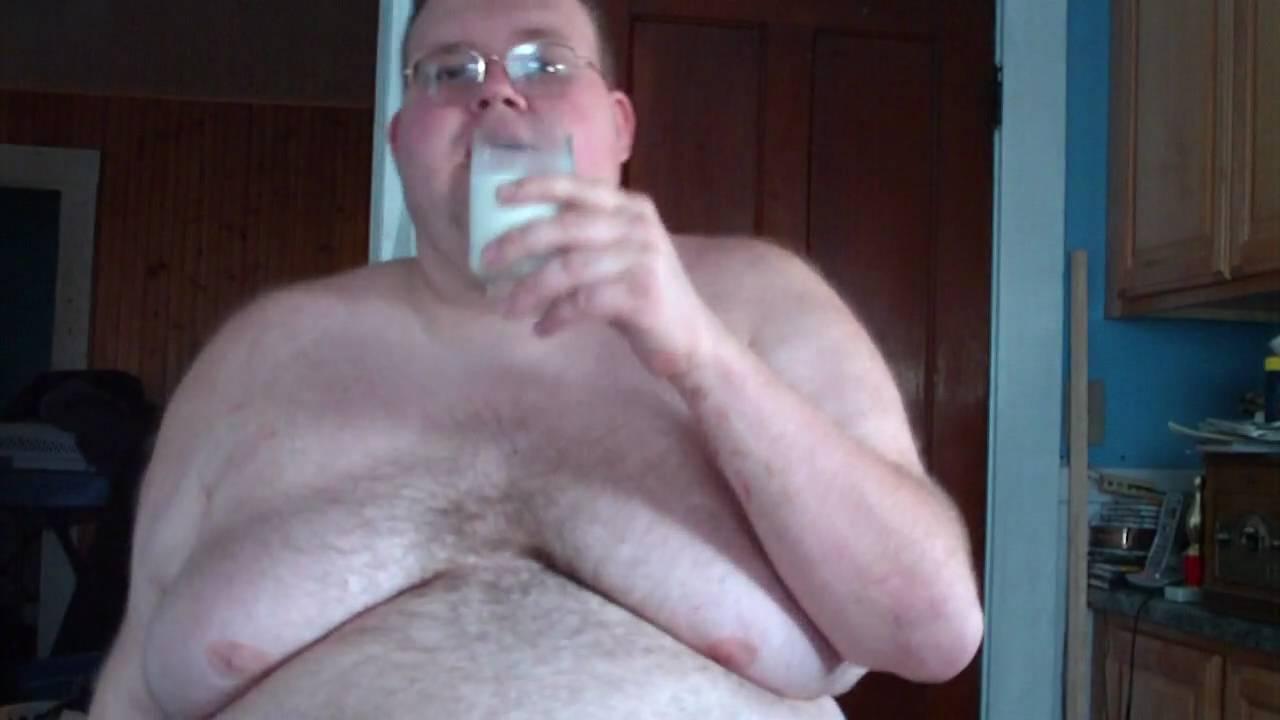 Fat Man Tits 5