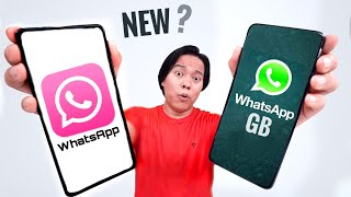 Pink WhatsApp vs GBWhatsApp : Things you Must Know !! 🥸🥸