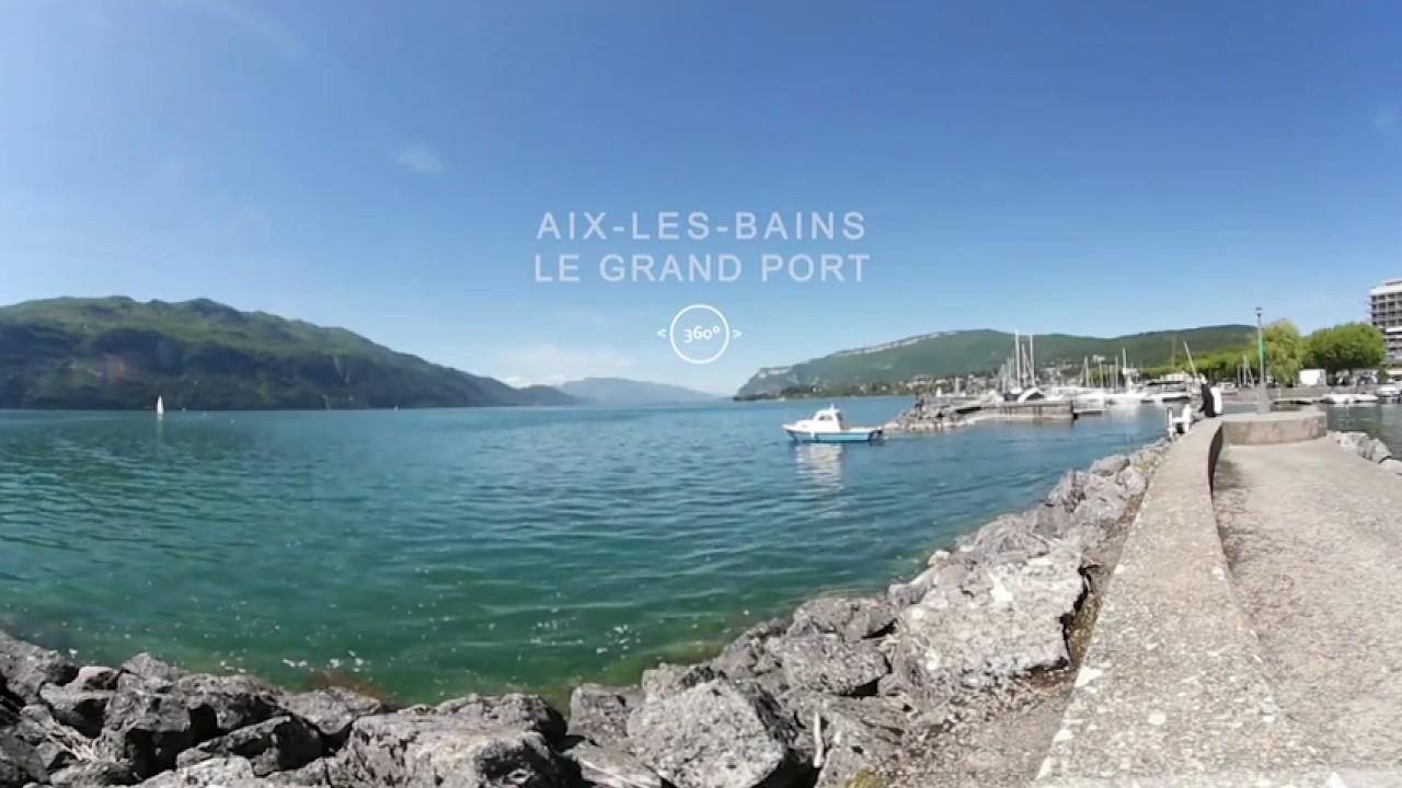 aix les bains le grand port youtube. Black Bedroom Furniture Sets. Home Design Ideas