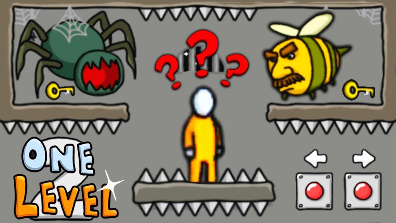 ЧТО ЗДЕСЬ ПРОИСХОДИТ? Побег СТИКМЕНА из ТЮРЬМЫ #10 Игра One LEVEL 2 от Cool GAMES