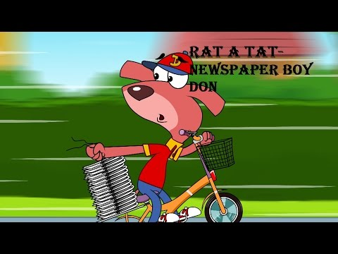 Rat-A-Tat | Chotoonz Kids Funny Cartoon Videos | 'News Paper Boy Don'
