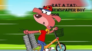 rat a tat   chotoonz kids funny cartoon videos   news paper boy don