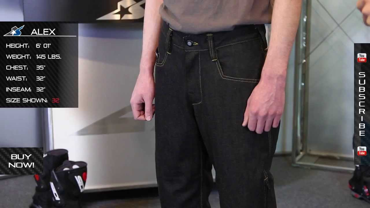Icon 1000 Rouser Denim Pants from Motorcycle-Superstore.com