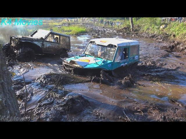 4x4 Off-Road vehicle mud, water race   ET 2   Antsumae, 2017