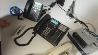 Analog, Digital, & VoIP phones