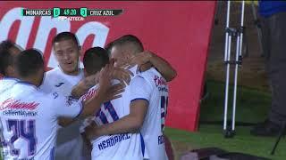 Cruz Azul gana a Monarcas e ilusiona en el Clausura 2020
