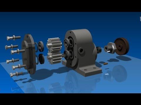 Autodesk Inventor - tutorial - como funciona - proyecto completo_001
