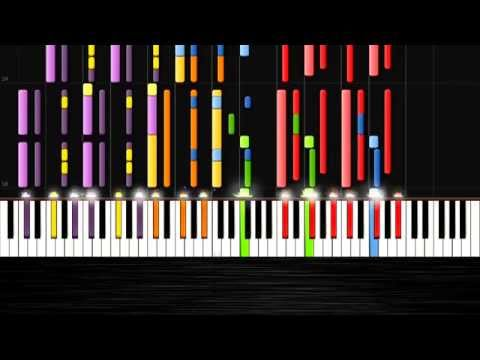MAGIC! - Rude - IMPOSSIBLE PIANO by PlutaX - Synthesia - Piano