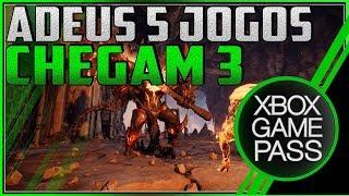 XBOX GAME PASS - Jogos SAINDO e outros com datas pra CHEGAR! TEM JOGÃO em BREVE! / Видео