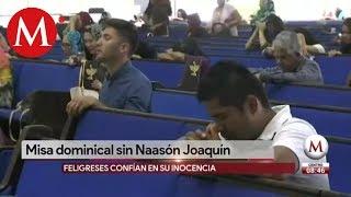 Primera misa de la Luz del Mundo sin Naasón Joaquín García