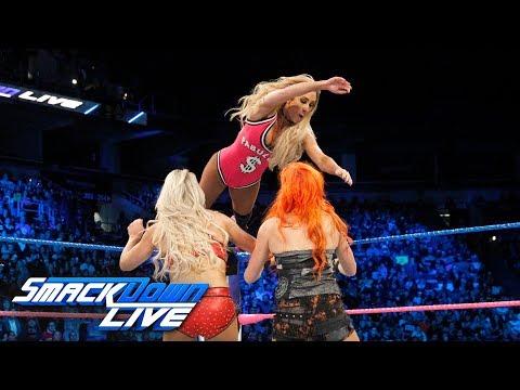Fatal 5-Way Match - Winner Becomes Survivor Series Captain: SmackDown LIVE, Oct. 24, 2017