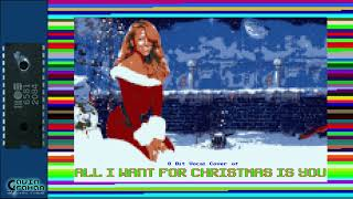 All I Want For Christmas [ Bitpop / Chiptune ] - Tribute to Mariah Carey