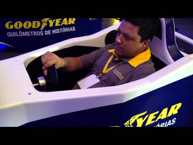 Goodyear F1 Simulator - Lançamento EAGLE SPORT