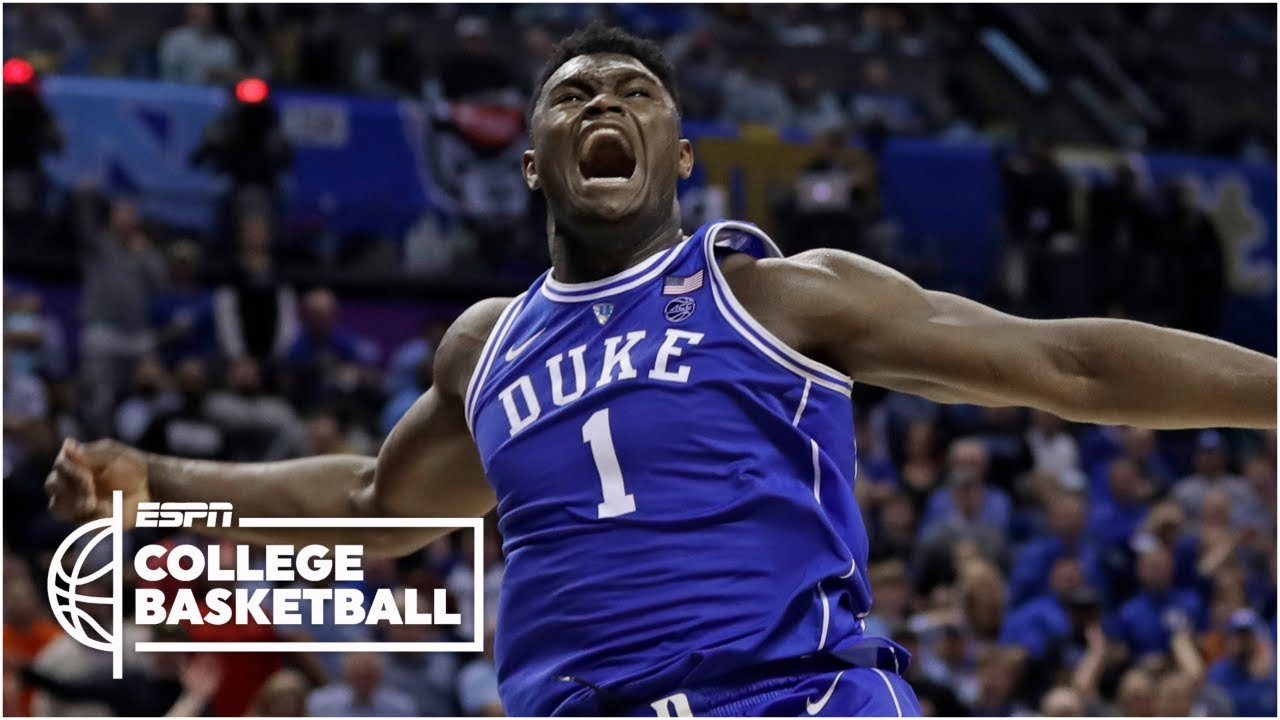 separation shoes 58627 8da3d Zion Williamson scores 31 in Duke's win vs. North Carolina | College  Basketball Highlights