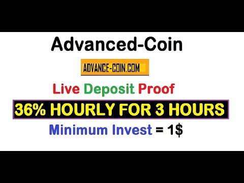 Live Deposit Proof 36 Hourly For 3 Hours New Hyip Best Plan Minimum Invest 1