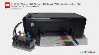 HP Deskjet F2400 CISS - HP 60,…