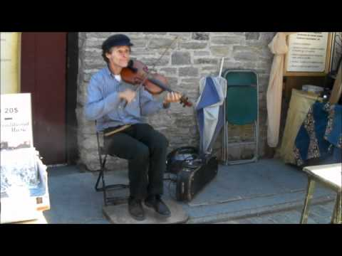 Jacques Dupuis Performing Two Traditional Quebec Songs La Ma