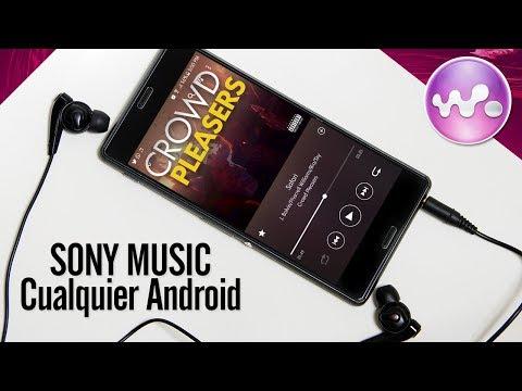 Instala Xperia Music el Reproductor de SONY en Cualquier Android | Nueva Versión 2018
